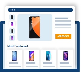Most Purchased Recommendations for Product Pages