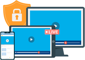 DRM Protection for Live Streams