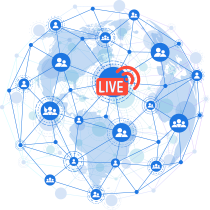 Global Delivery of your Live Streams