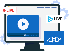 Embed Live Video Easily