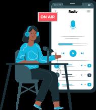 Broadcast On-demand Audio Content