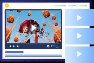 Broadcast On-demand Videos