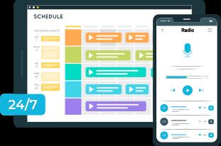 Schedule Programs for 24x7