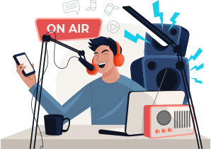 Set up and Launch Radio Station Instantly