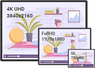 Deliver Fitness Content in Perfect Resolution