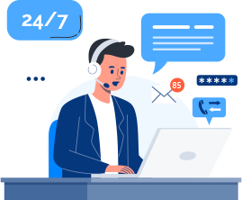 Get 24x7x365 Support