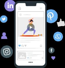 Publish Fitness Videos on Social Media