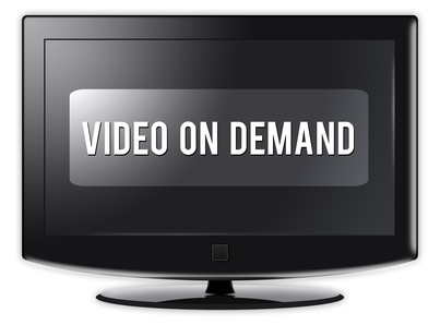 "Flatscreen TV ""Video On Demand"""