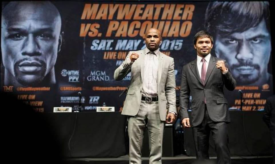 Mayweather Pacquiao Boxing (2)