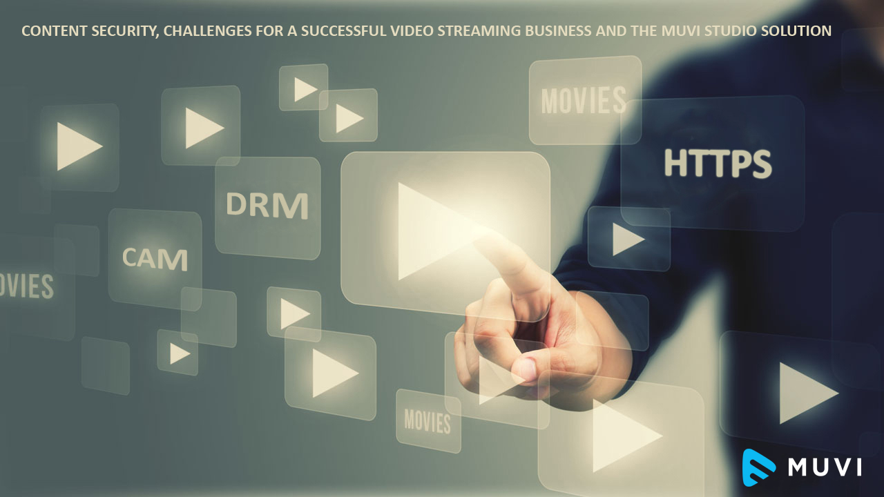 Content Security, Challenges for a VoD Business and the Muvi Solution