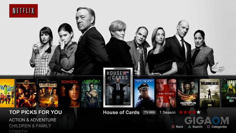 Netflix's major upgrade the latest salvo in on-demand TV war