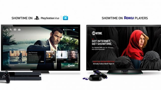 Showtime Signs Up Roku, PlayStation for Online Streaming Service