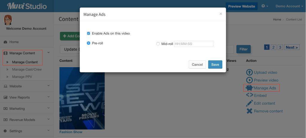 Video Ad Platform