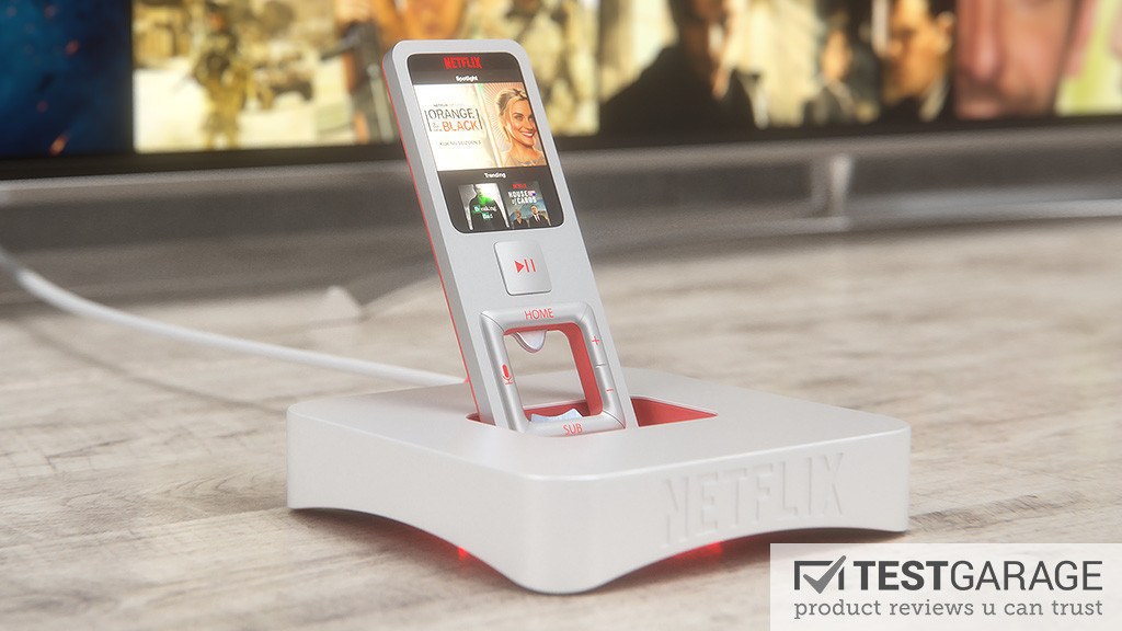 Netflix's TV Box Designs By TESTGARAGE Are Insane