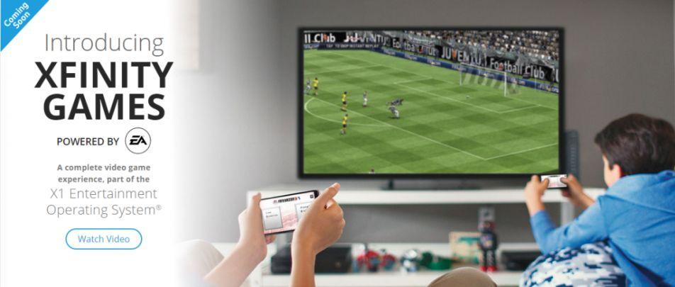 Comcast, EA games partner for streaming video experience on your TV