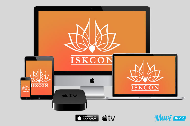 Muvi Studio Launches iOS Apps For ISKCON With Support For Apple TV