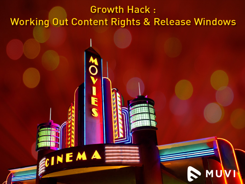 Growth Hack :  Working Out Content Rights & Release Windows