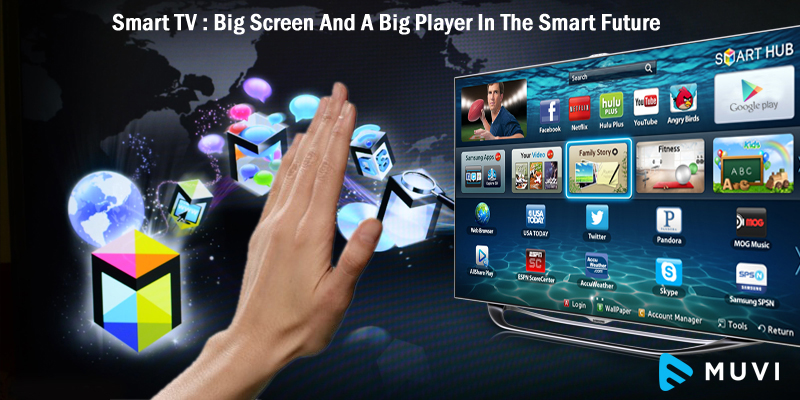 Smart TV : Big Screen And A Big Player In The Smart Future