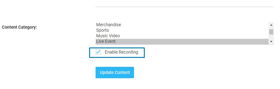 Setup Live Streaming on your website - Muvi