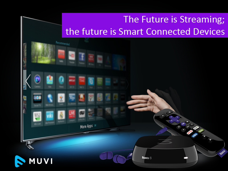 The Future is Streaming; the future is Smart Connected Devices