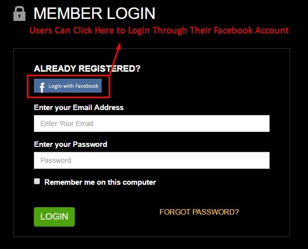 facebook mobile login