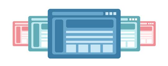 choosing a template for Muvi platform