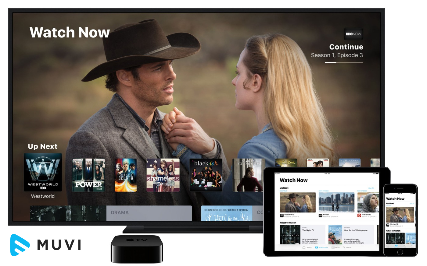 Apple TV brings A Unified Approach to Watching TV