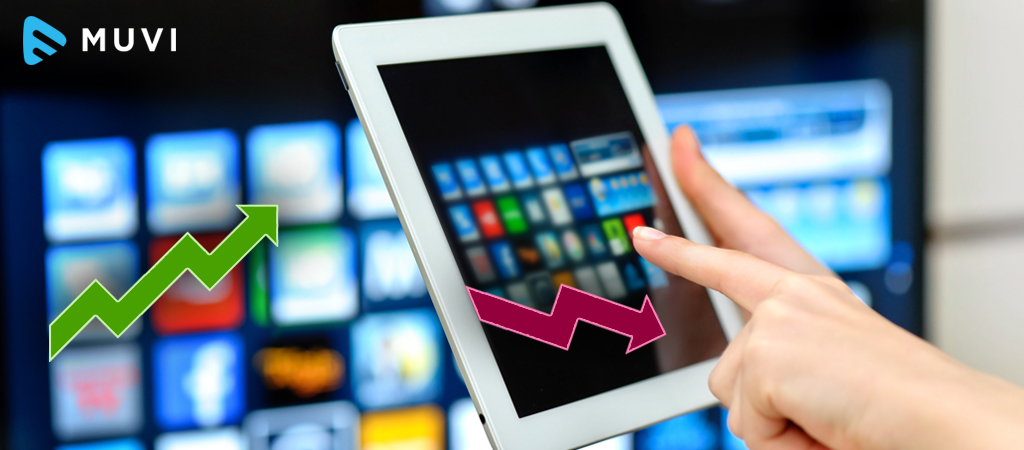 Connected TV Usage Grows by 50% in the Past Year, Smartphone Usage Decreases