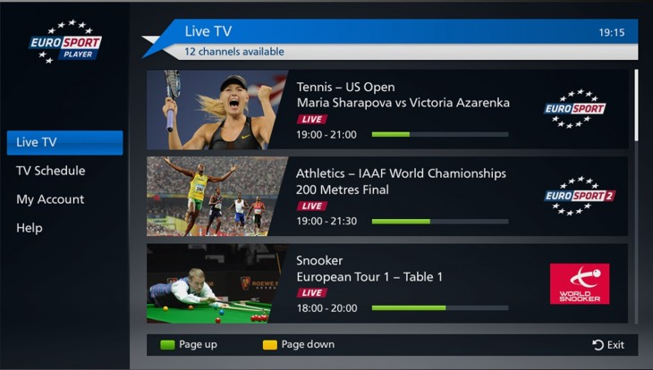 Discovery aims to be the 'Netflix of sport'