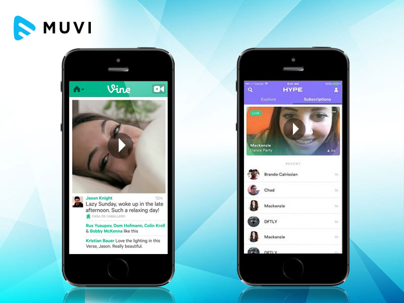 "Vine cofounders come with ""Hype"" - a new video streaming service"