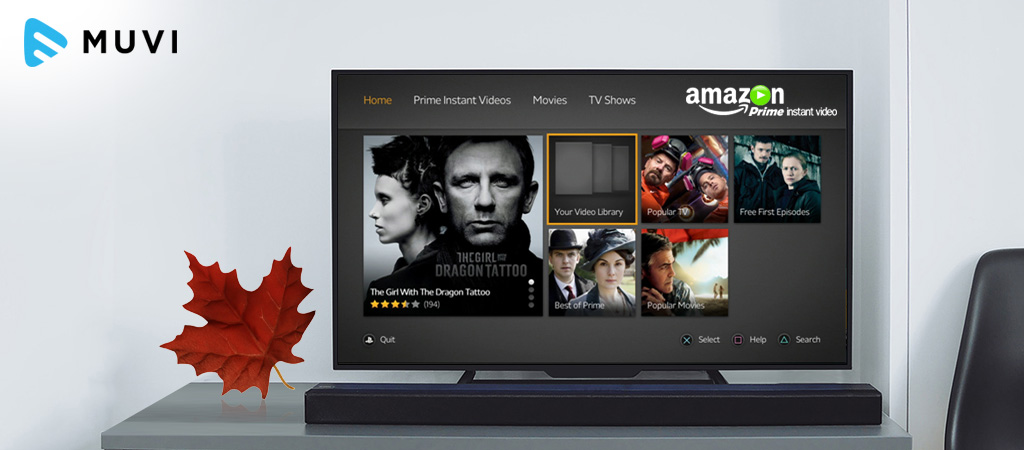 Amazon Prime Video Launches in Canada