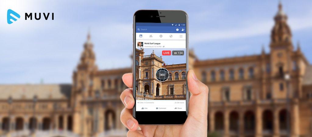 Facebook 360 Degree Videos
