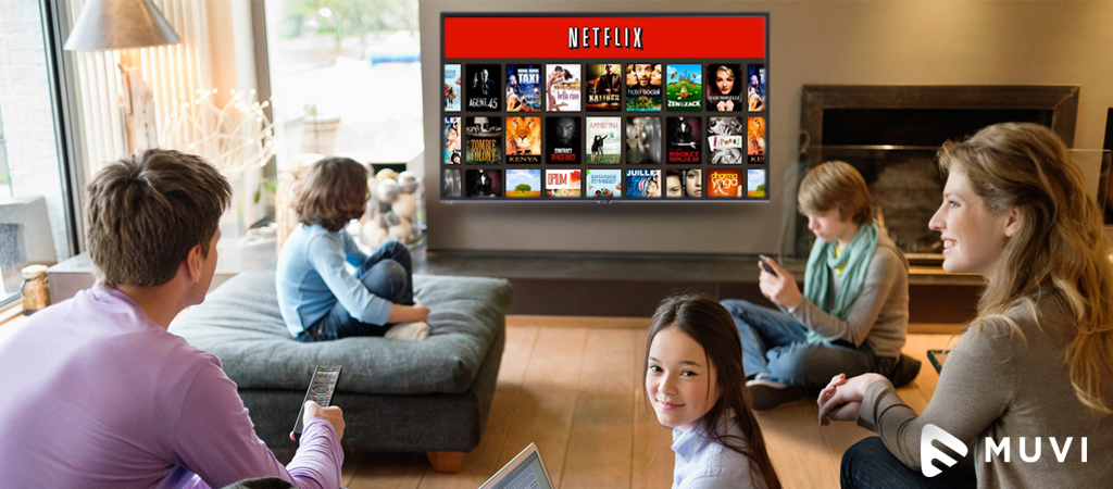 Over 40% of UK internet users Subscribe to Netflix