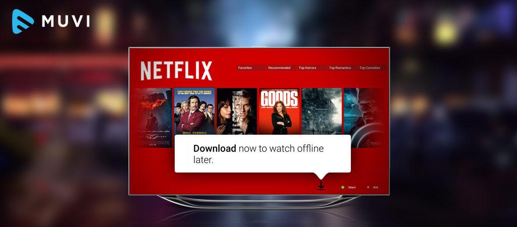 Netflix's Offline feature