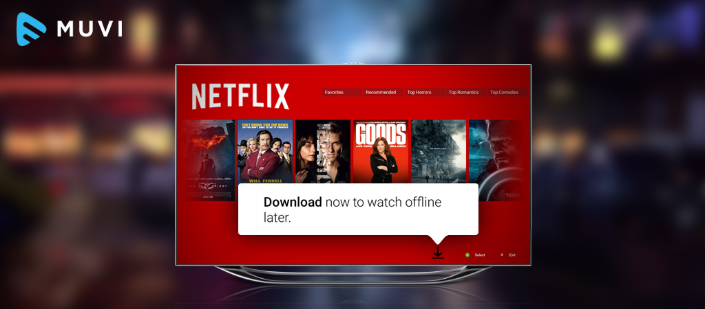 Netflix allows downloading, Hulu can follow