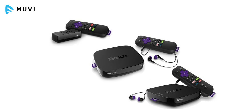 Roku's line of 4K Devices
