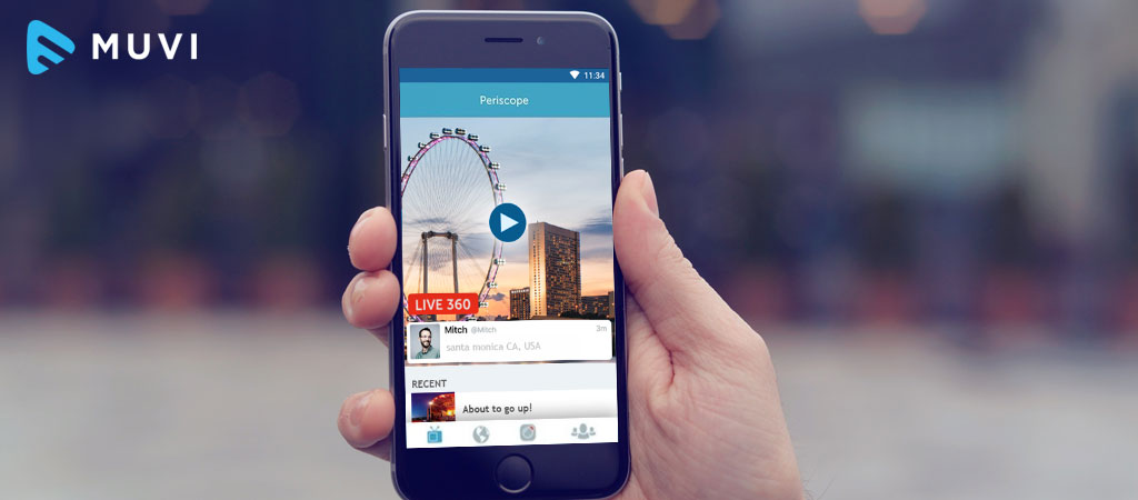 Twitter inserts Pre-roll Ads in some Periscope Live Streaming videos