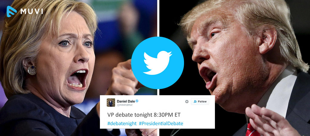 Twitter Live Streamed US Presidential Debates