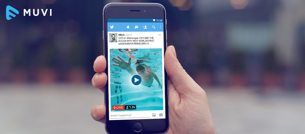 Twitter allows Live Broadcasting for users