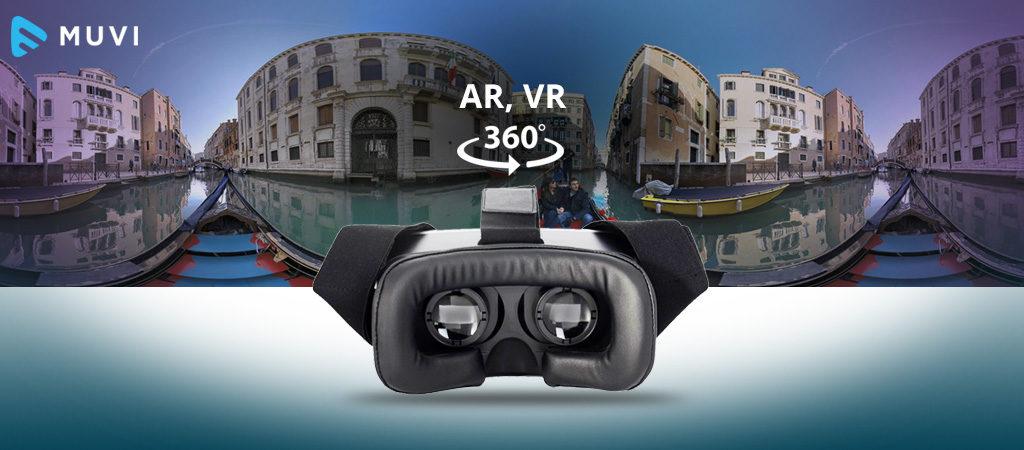 AR, VR & 360 videos