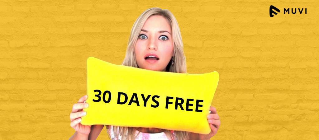 Free Trials for VOD Platform