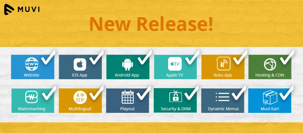 Keep your OTT platform updated