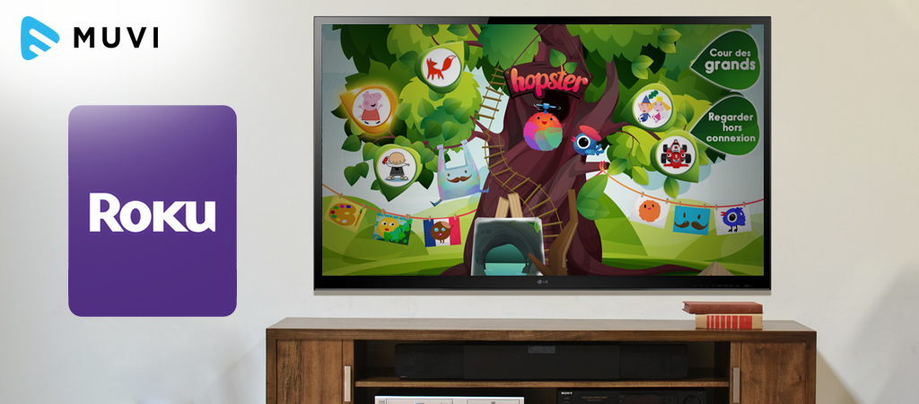 Hopster launches on Roku