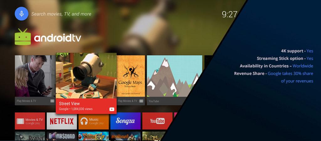 Android TV comparison