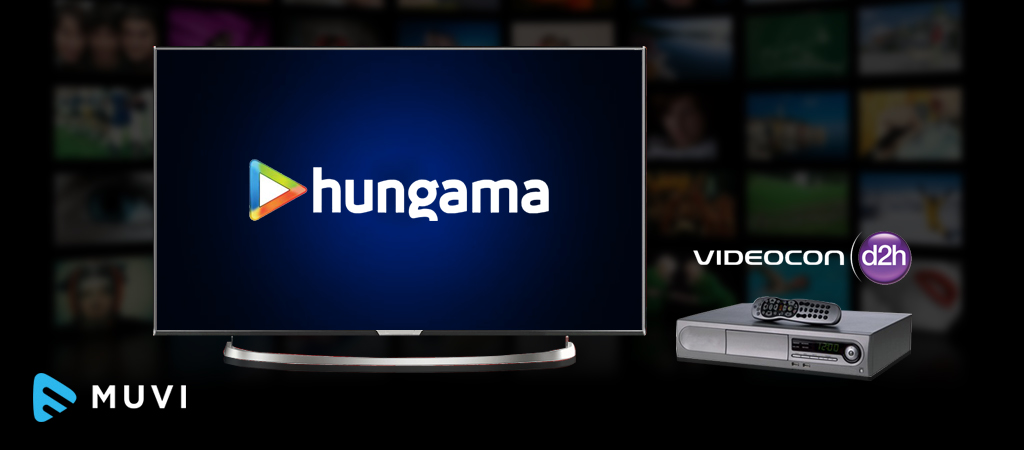 D2H operator Videocon adds Hungama Play to its HD Smart Connect STB