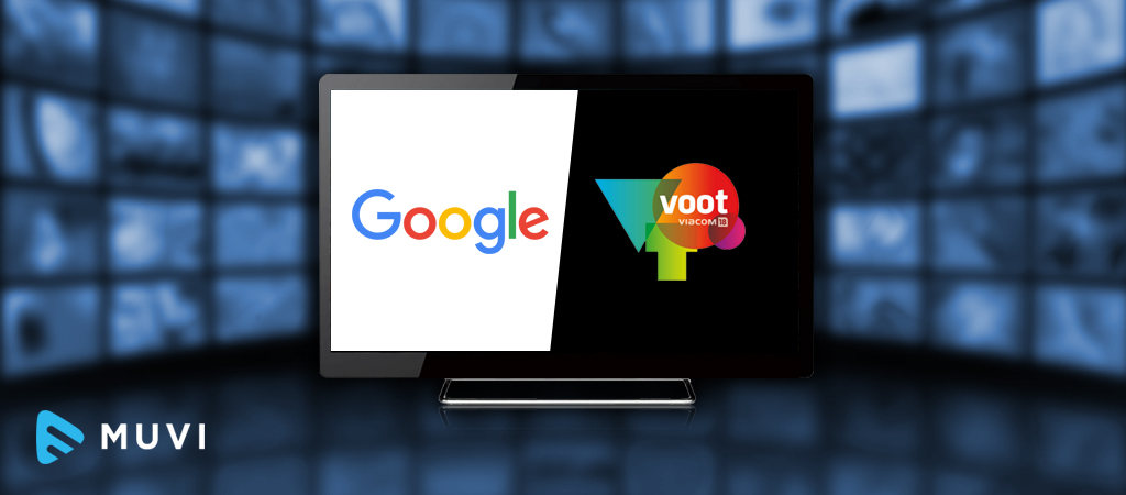 VOOT partners with Google for it's VOD Web App