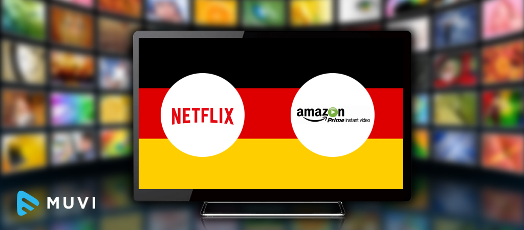 Netflix and Amazon strongly favored over local SVOD platforms in Germany and India