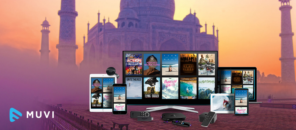 VOD, OTT, Music & Gaming to overtake traditional media in India by 2022