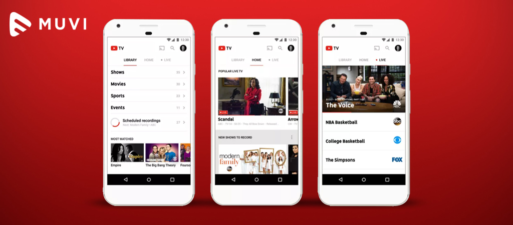 YouTube TV launched in 12 more markets