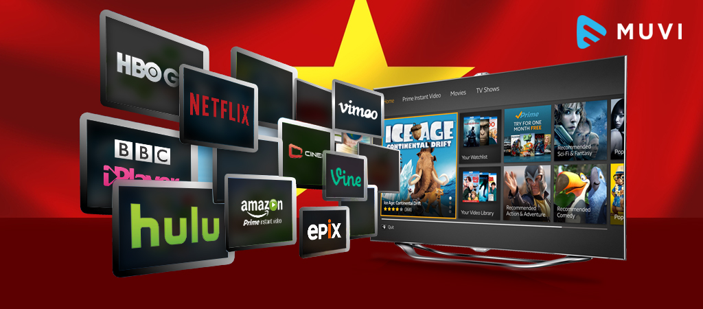 International OTT platforms are gaining in Vietnam
